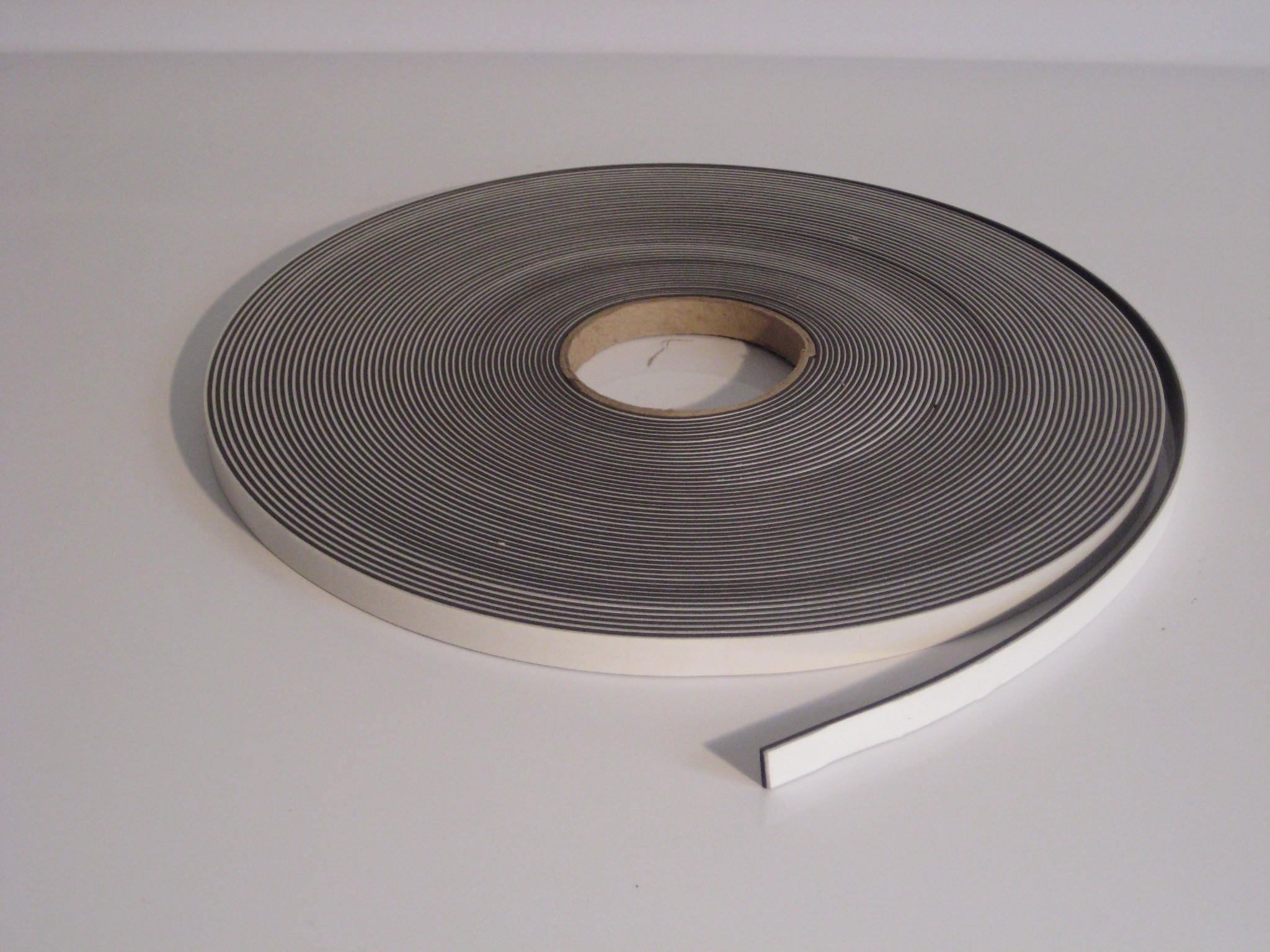 12 7mm X 1 5mm Foam Self Adhesive Magnetic Tape Type A