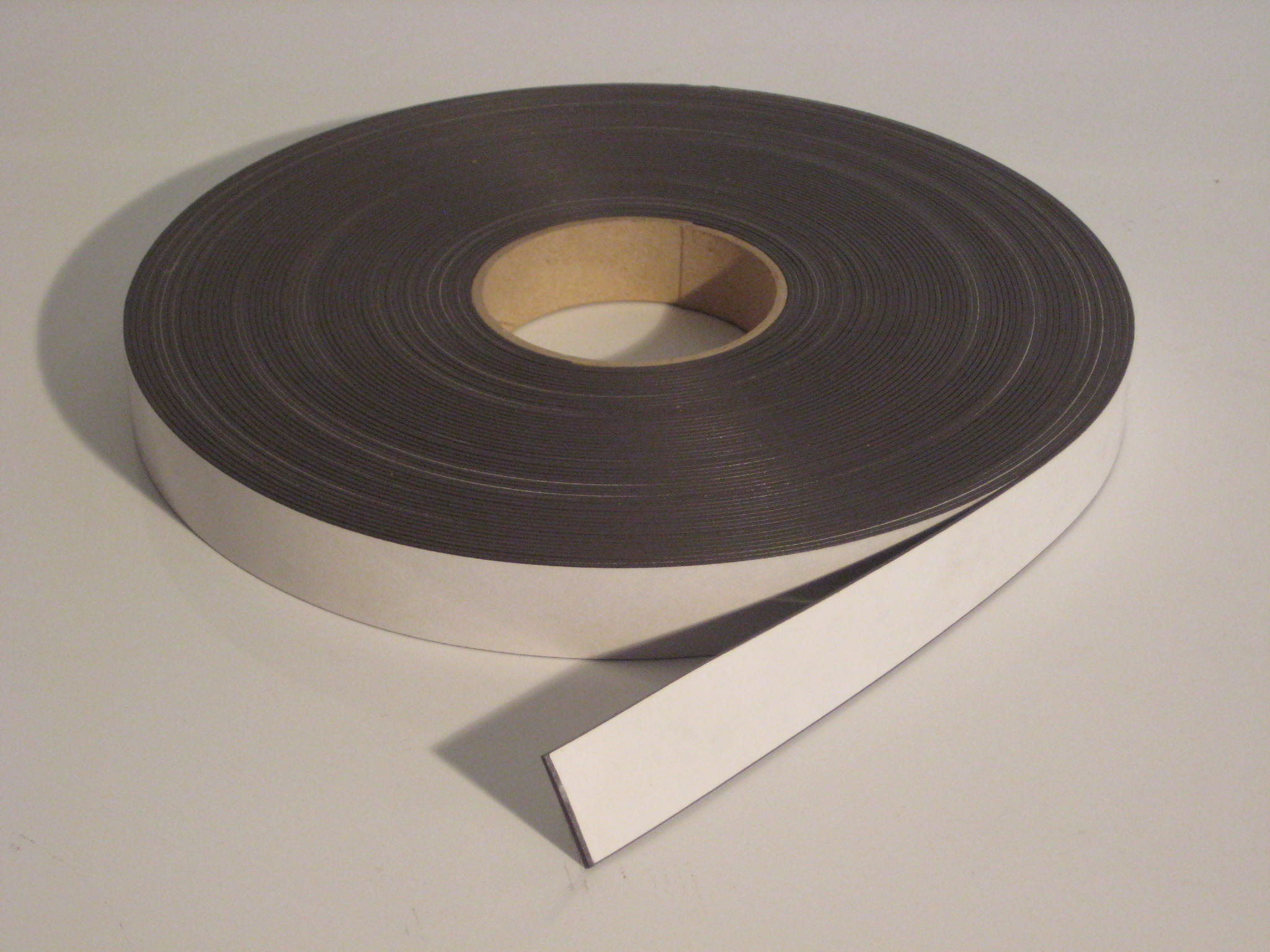 25 4mm X 1 5mm Standard Self Adhesive Magnetic Tape Type